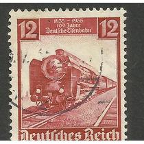 Estampilla Alemana, Ferrocarril 1935. Vbf