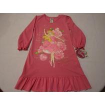 Pijama Bata Princesa Aurora De Disney Para Niña 4 Años