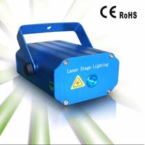 Efectos Luces Laser Dj Activado Por Sonido 7 Patrones+tripie