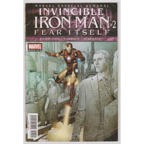 Invencible Iron Man # 2 Fear Itself - Editorial Televisa