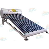 Calentador Solar 12 Tubos. Sin Subir Tinaco Meses Sin Int