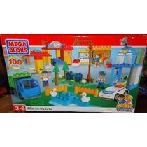 Mega Bloks 326 Centro De La Ciudad Ciudad Del Bloque 100 Pie