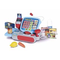 Mini Caja Registradora Niños Accesorios Compras Juguete
