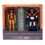 Mazinger Z Y Afrofita Set , Sd Toys Figura Coleccionable
