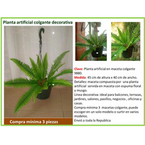 Follaje Artificial Colgante