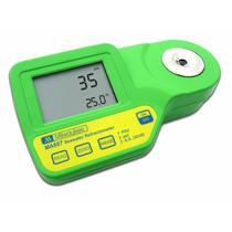 Medidor Digital De Salinidad Refractómetro Con Compensación
