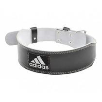 Adidas Cinturon Pesas Entrenamiento Cuero Weigthlifting Gym