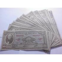 Un Billete 100 Pesos Hidalgo Condicion Usado