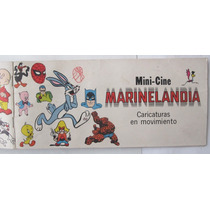 Album Marinelandia Mini Cine Caricaturas 1971 Lleno