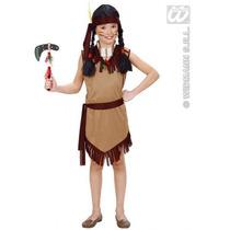 Niños Traje Indio - Chicas Disfraces Nativo Rojo Grande