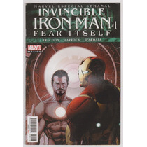 Invencible Iron Man # 1 Fear Itself - Editorial Televisa