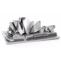 Rompecabezas Miniatura 3d Metálico Sidney Opera House