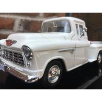 Camioneta Chevy 5100 A Escala 1:24 Modelo 1955 De Colleti