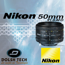 Nuevo Lente Objetivo Fijo Nikon Nikkor 50mm F/1.8d Af Reflex