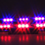 Luces Policiacas Dt Moto Blue Red 54x Led Police Vehicle