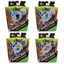 Minecraft Paquete 3 Mini Figuras 4 Modelos Diferentes Mattel