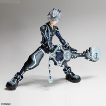 Kingdom Hearts Sora Riku Play Arts 3d Tron Nuevo Japon En Mx