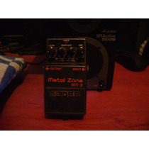 Metal Zone Boss Pedal Distorsion