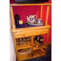 Mueble De Servicio Para Cocina De Madera De Pino