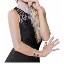 Maxi Vestido Largo Formal Holly Land Xch Xxg Encaje
