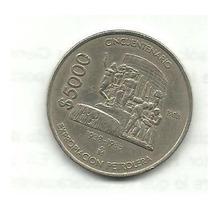 Moneda De 5000 Pesos Cincuentenario