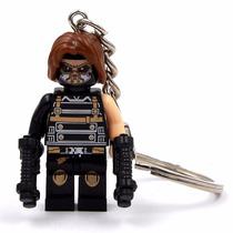Llavero Soldado De Hielo Civil War Lego Marvel Comics