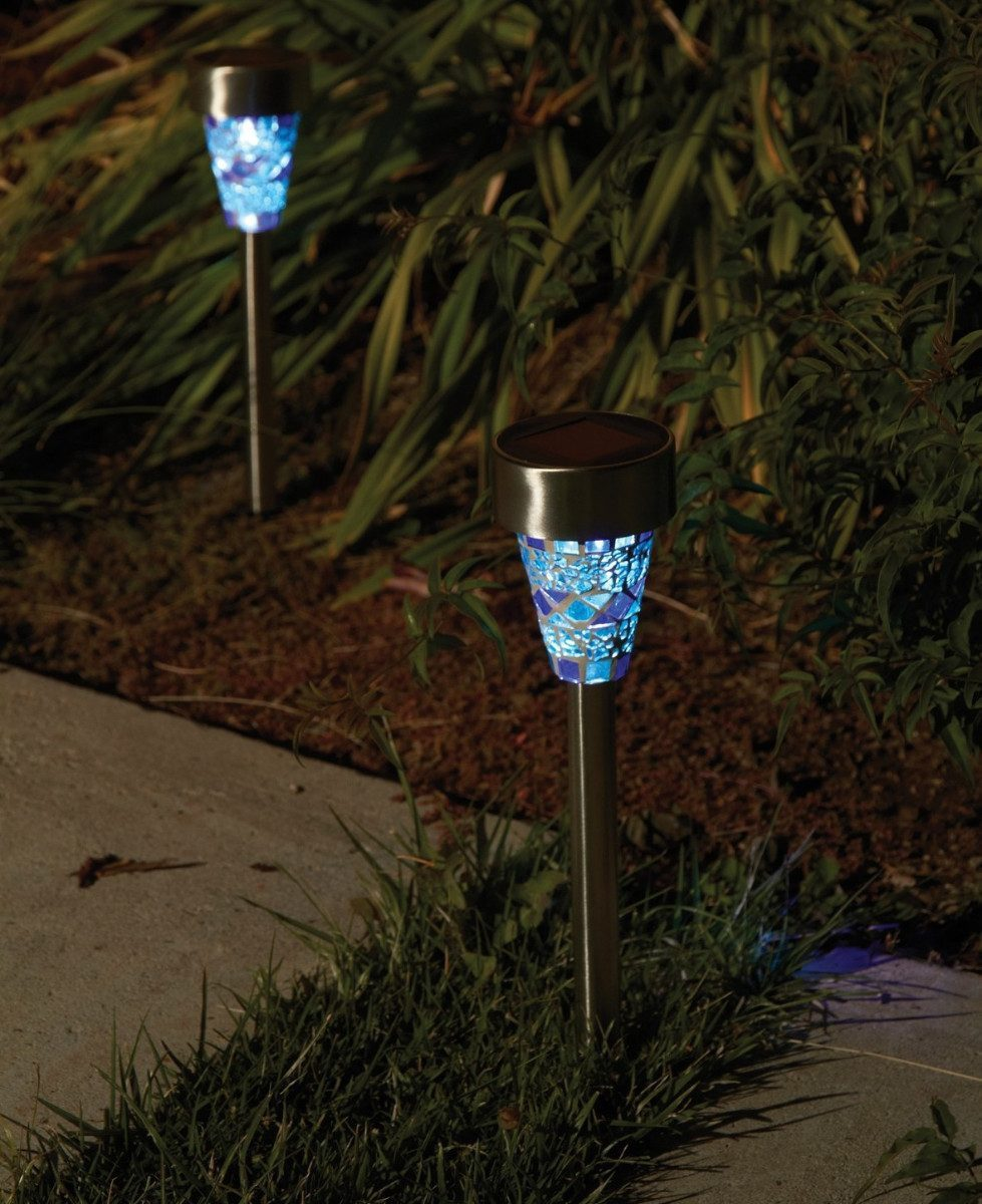 3 luz lamparas solar leds patio jardin decoracion de