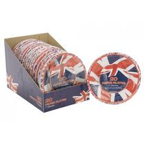 Platos De Papel - Jack Bandera Británica Unión Imprimir De