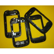 Blackberry 9220 Placa Media/chasis/middleboard/gomas