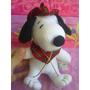 Snoopy De Peluche Vestido Escoces