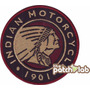 Indian Motorcycles Chopper Motos Parches Bordados