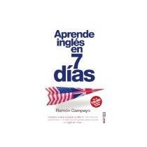 Libro Aprende Ingles En 7 Dias *cj