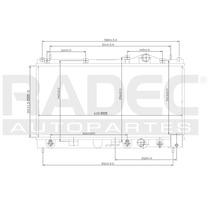 Radiador Neon 95-99 L4 2.0 Lts Americano Automatico