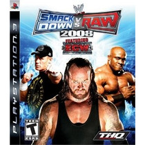 Wwe Smackdown Vs Raw 2008 Ps3 -- Mannygames