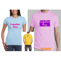 Playera Legalize Gay Gy8009