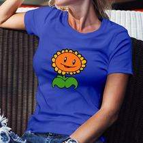 Playera Plantas Vs Zombies Girasol Gamer