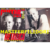 Metallica Revista Guitar World Usa Diciembre 1998
