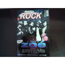 Revista Nuestro Rock El Tiempo De Zoe