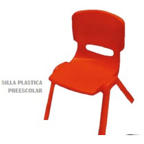 Silla Plastica Preescolar Polipropileno