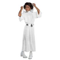 Disfraz De Lujo Princesa Leia Niña Halloween Star Wars Lia
