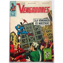 Los Vengadores No. 20 -1981 Ed. Novedades Editores Vv4