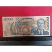 Billete De $10,000 Diez Mil Pesos Cardenas