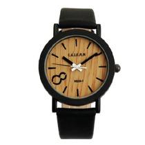 Reloj Vintage Madera Negro O Café Casual Spor Envio Gratis