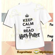 Playera Harry Potter Keep Calm ¡ Personalízala !