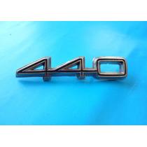 Emblema Dodge Coronet 440 Para Cajuela