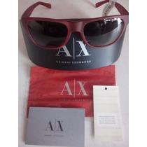 Lentes Armani Exchange Rojos Ax4008-8027-11