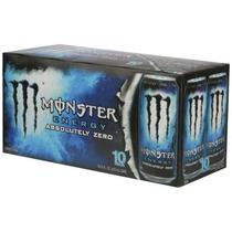 Monster Energy Drinks Cero Absoluto 16 Fl Oz 10 Pack