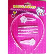 Hello Kitty, Accesorios Para El Cabello, Original Sanrio