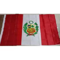 Bandera De Perú 150x90cm. Banderas Del Mundo Y Temáticas
