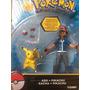 Pack Pokemon Figuras Ash Pikachu Pokebola Envio Gratis